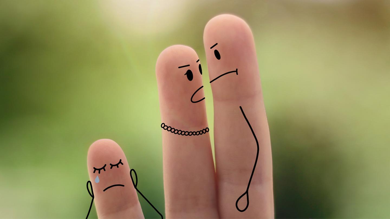 Kinder- und Jugendpraxis – Fingerfamilie