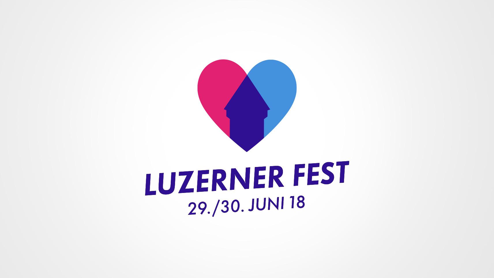Luzerner Fest – Logo-Redesign