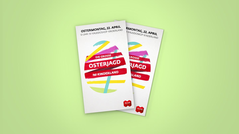 Keyvisual Osterjagd – Mall of Switzerland