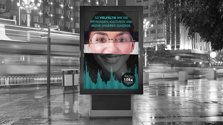 Plakat – Radio Lora