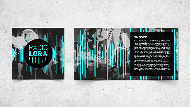 Infobroschüre – Radio Lora